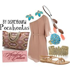 disney inspired clothes from Pocahontas by Disneybound