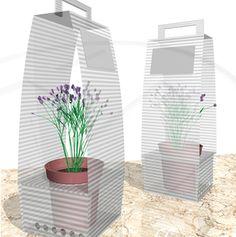 Design SO Cool - Packaging plants - Dot Art #flower #packaging