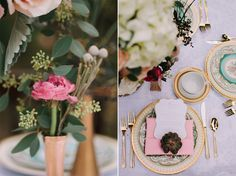 pink and gold wedding by dallas wedding photographer stephanie brazzle photography