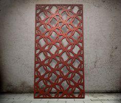 Laser cut screen Circles design www.milesandlincoln.com