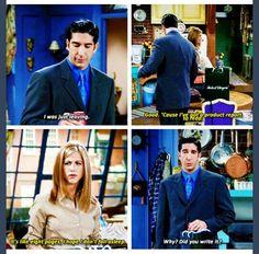 Haha . Ross