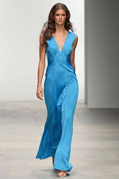 Issa blue gown