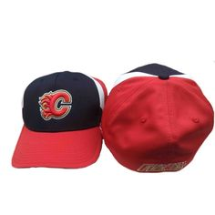 76ff2be7aa8 Calgary Flames Reebok NHL FlexFit Hat - One Size Fits All Boston Bruins