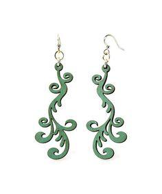 Loving this Green Hollander Drop Earrings on #zulily! #zulilyfinds