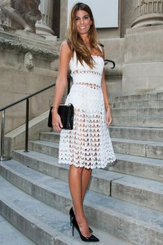 Bianca Brandolini d'Adda en Dolce & Gabbana