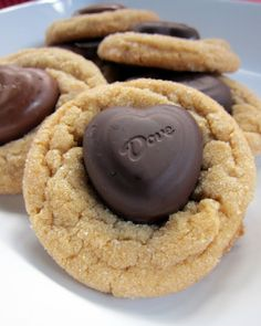 Biscoff Heart Cookies