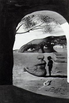 Salvador Dali. Some of his stuff gets pretty weird. This one is tame.