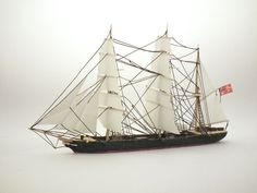 Bark Otago mikromodel w skali 1:500 http://mojeminiatury.waw.pl/bark-otago-1500/