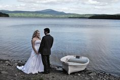 Weddings at Bear Tree, Magalloway MT. in the distance on 1st Conn. Lake...Stunning!