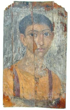 Mummy Portrait UC19607 -The Petrie Museum of Egyptian Archaeology, London.