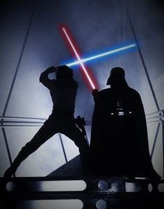 Luke Skywalker vs Darth Vader - Epic Lightsaber Duel - Best Star Wars Image Ever -  What Star Wars should have been.