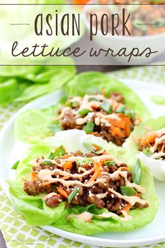 4 Points About Vintage And Standard Elizabethan Cooking Recipes! Get Dinner On The Table In A Jiffy With These Asian Pork Lettuce Wraps It's A Simple, Satisfying Meal The Entire Family Will Enjoy Ad Hvranch Walmart Wrap Recipes, Asian Recipes, Dinner Recipes, Healthy Recipes, Ethnic Recipes, Healthy Food, Healthy Eating, Dinner Ideas, Chinese Recipes