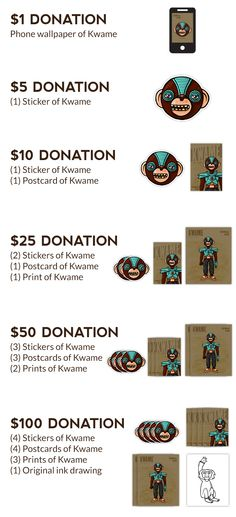 Andres alfonso is raising funds for the monkey clan stickers on kickstarter help me print these monkey stickers and get some in return along with postcards
