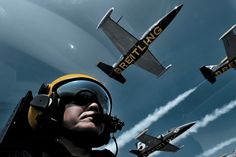 Fly with the Breitling Jet Team!