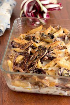 Pasta al forno con radicchio, una delizia a pranzo o cena