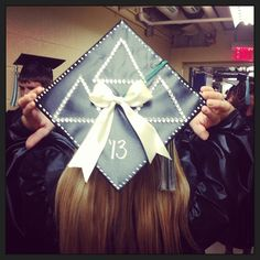 The single-most perfect graduation cap I have ever seen.
