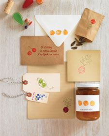 Cork stamps, great idea, endless possibilities for this, cards, invitations, gift tags, gift bags, wrapping paper, kids art, labels, homemade return address labels, etc...