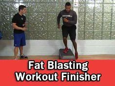 Fat Blasting Workout Finisher - NO EQUIPMENT!