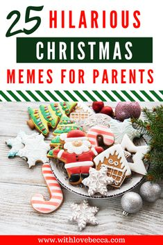 The 25 Hilarious Memes for Christmas. Funny Christmas memes for parents. #funnymemes #christmas #momhumor