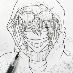 Ticci Toby sketch by Jordan Persegati Creepypasta Ticci Toby, Creepypasta Proxy, Creepypasta Characters, Scary Drawings, Amazing Drawings, Horror Drawing, Creepy Pasta Family, Jeff The Killer, Scary Stories