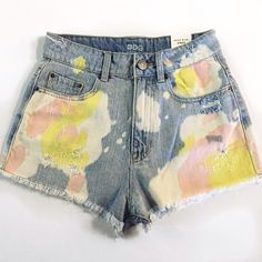 NWT BDG High Rise Dree Shorts Super cute for summer! Excellent condition. BDG Shorts Jean Shorts
