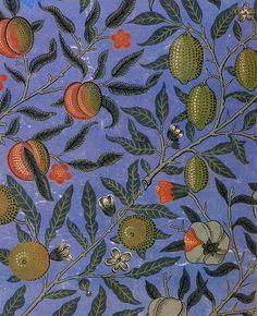 Morris, Faulkner & Co. textile design, 1864.