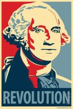 Revolution= Shephard Fairey Knockoff