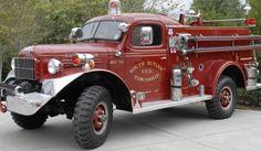 1961 Dodge Power Wagon firetruck found on AutoTraderClassics.com  Beautiful classic firetruck
