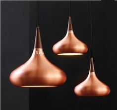 The Orient Pendant Light is a flawless light design with good luminous efficacy, made from the finest quality materials. Copper Pendant Lights, Pendant Lighting, Copper Lighting, Pendant Lamps, Brass Pendant, Hanging Light Fixtures, Hanging Lights, Blitz Design, Suspension Metal