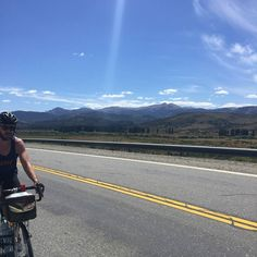 Can't beat the view of the Andes @fitzandfollowell #velovoyagers