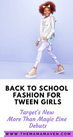 """title=""""Back To School Fashion for Tween and Teen Girls: Target's New More Than Magic Line Debuts""""> Back To School Fashion for Tween and Teen Girls: Target's New More Than Magic Line Debuts Target Back To School Fashion, Back To School Shopping, Back To School Outfits, Cute Outfits For Kids, Cute Kids, Pajama Day At School, Teenage Age, Target Target, Cute Mermaid"""