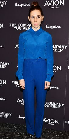 """Zosia Mamet in Honor (2013 New York City premiere of """"The Company You Keep"""")"""