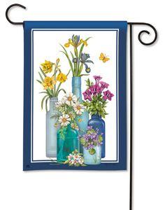 Attrayant Fresh Cut Decorative Spring Garden Flag By BreezeArt Cut Flower Garden,  Flower Gardening, House