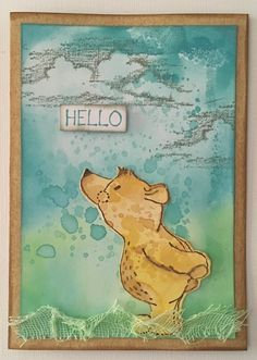 Card created using Kaszazz products by Julie Storti Facebook Sign Up, Winnie The Pooh, Disney Characters, Fictional Characters, Create, Cards, Products, Pooh Bear, Fantasy Characters