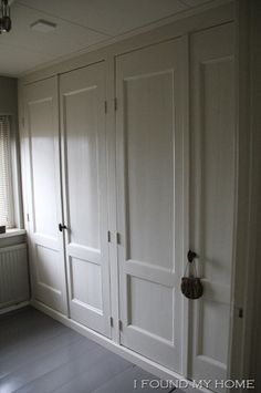 Could we not build closets right in rather than using Ikea wardrobes.