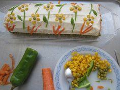 BRAZO GITANO DE ENSALADILLA Relleno, Fresh Rolls, Quiches, Ethnic Recipes, Blog, Lettuce Salads, Cooking Recipes, Hipster Stuff, Blogging