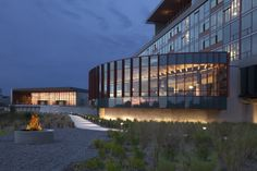 The Streamsong Lodge has 216 luxury guest rooms.