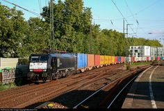 RailPictures.Net Photo: ES 64 F4-289 MRCE - Mitsui Rail Capital Europe BV Siemens ES 64 F4 at Cologne, Germany by Manfred Hintz