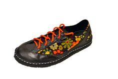 Custom flower power shoes by SOM Footwear. Designed by  O.M.- Montrose 3d142e696