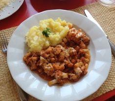 Karfiol s cesnakom a syrom na rímsky spôsob je chutnou pôstnou dobrotou Risotto, Mashed Potatoes, Rice, Ethnic Recipes, Food, Whipped Potatoes, Smash Potatoes, Essen, Meals