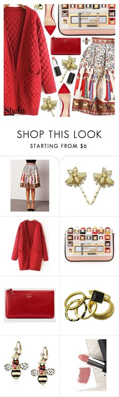 """""""Sweater & Skirt"""" by pastelneon ❤ liked on Polyvore featuring Fendi, Gucci, Betsey Johnson, Sigma, Gianvito Rossi and vintage"""