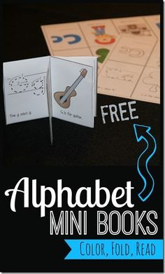 FREE Mini Alphabet Books