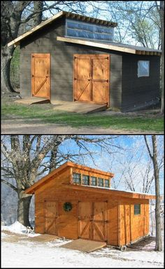 How to Build The Ultimate Garden Shed We found the ultimate garden shed! Lots of storage space, great natural light, big doors! We think you'll agree that it's hard to beat. Where does this place on the best garden shed list?