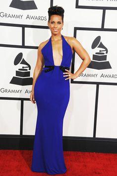 Alicia Keys, in Armani Privé.