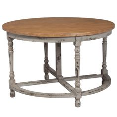 The Madeleine drop leaf table offers a refined, rustic surface to dining areas…