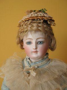 "Beautiful French Fashion Doll 15 1 2"" 1880 1890 LD Louis Doleac | eBay"
