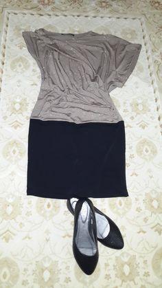 m beden jarse mini elbise
