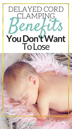 Delayed Cord Clamping Benefits You Don't Want To L… #NaturalPregnancyBenefits #NaturalPregnancyLife