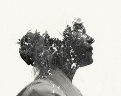 Multiple Exposure Portraits by Christoffer Relander