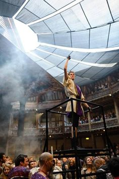 Titus Andronicus performed at The Globe